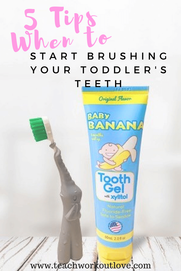 Photo of 5 Tips on When to Start Brushing Your Toddler's Teeth