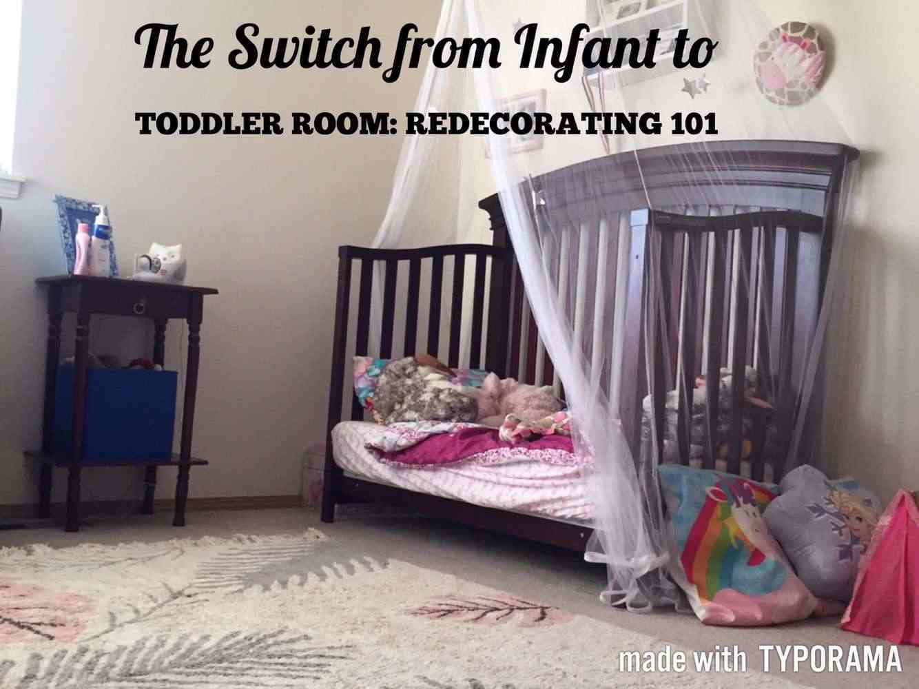 Switching To Toddler Beds How To Redecorate Teach Workout Love
