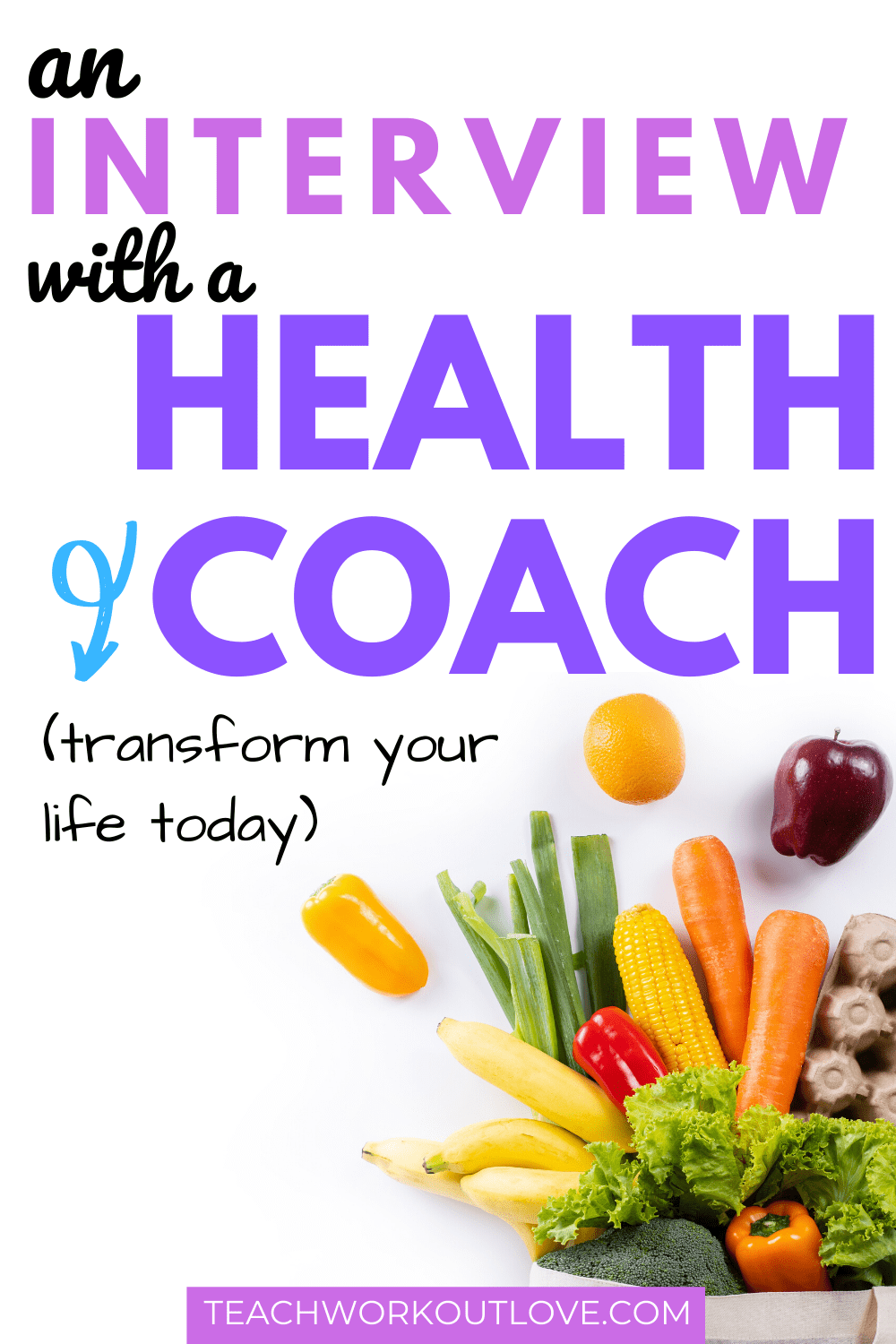 With the New Year coming up quickly, I researched more information about fitness, health and life changes. View the interview with a health coach for tips!