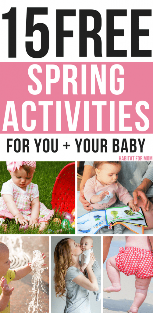 Photo of 15 Free Spring Activities for You and Your Baby