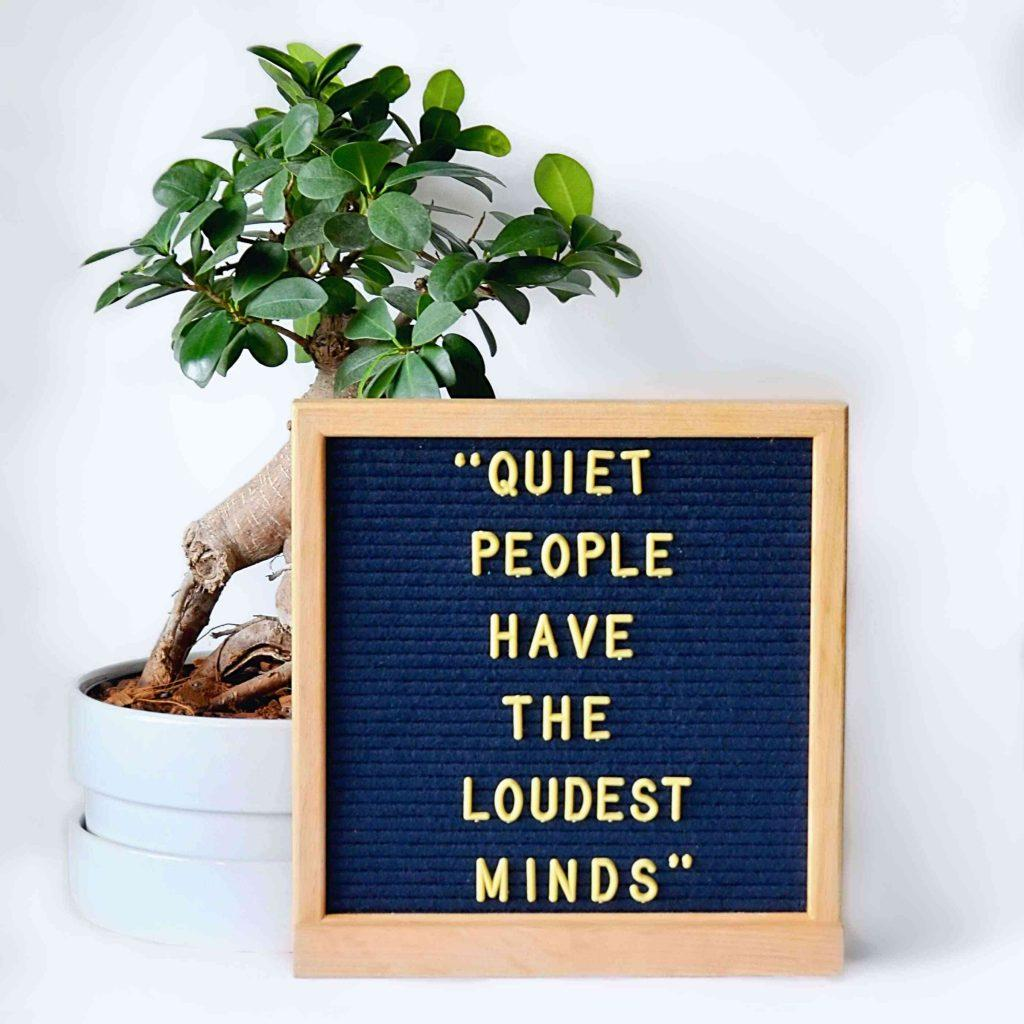 quiet-people-have-the-loudest-minds-letter-board-teachworkoutlove.com