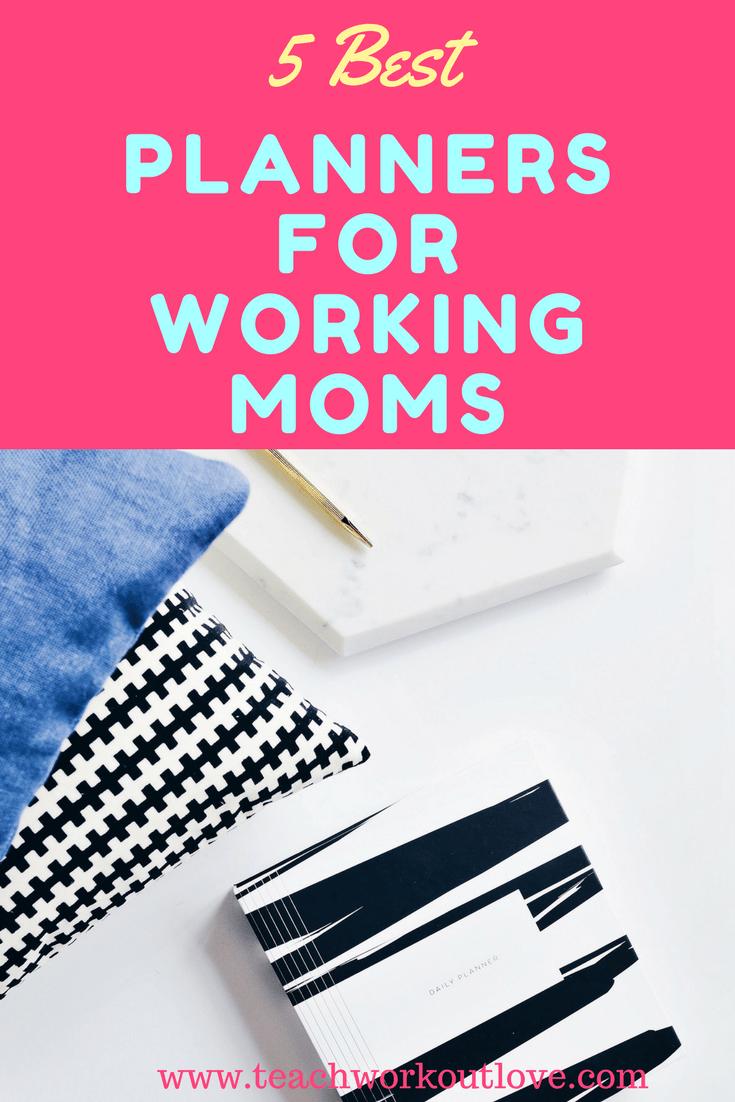 best-planner-for-working-moms-black-striped-planner-teachworkoutlove.com