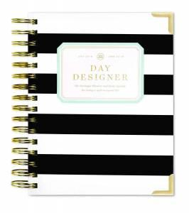 day-designer-black-and-white-striped-planner-for-working-moms-teachworkoutlove.com