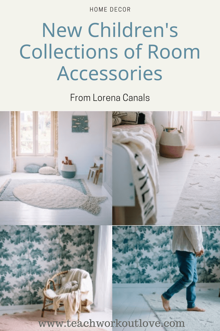 New Children's Room Accessories from Lorena Canals