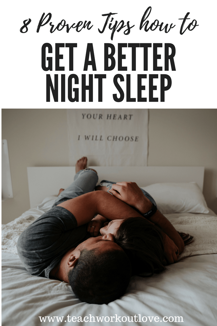 Are you having a hard time getting a good night sleep? If you're experiencing this problem, here's proven tips for a better night sleep.