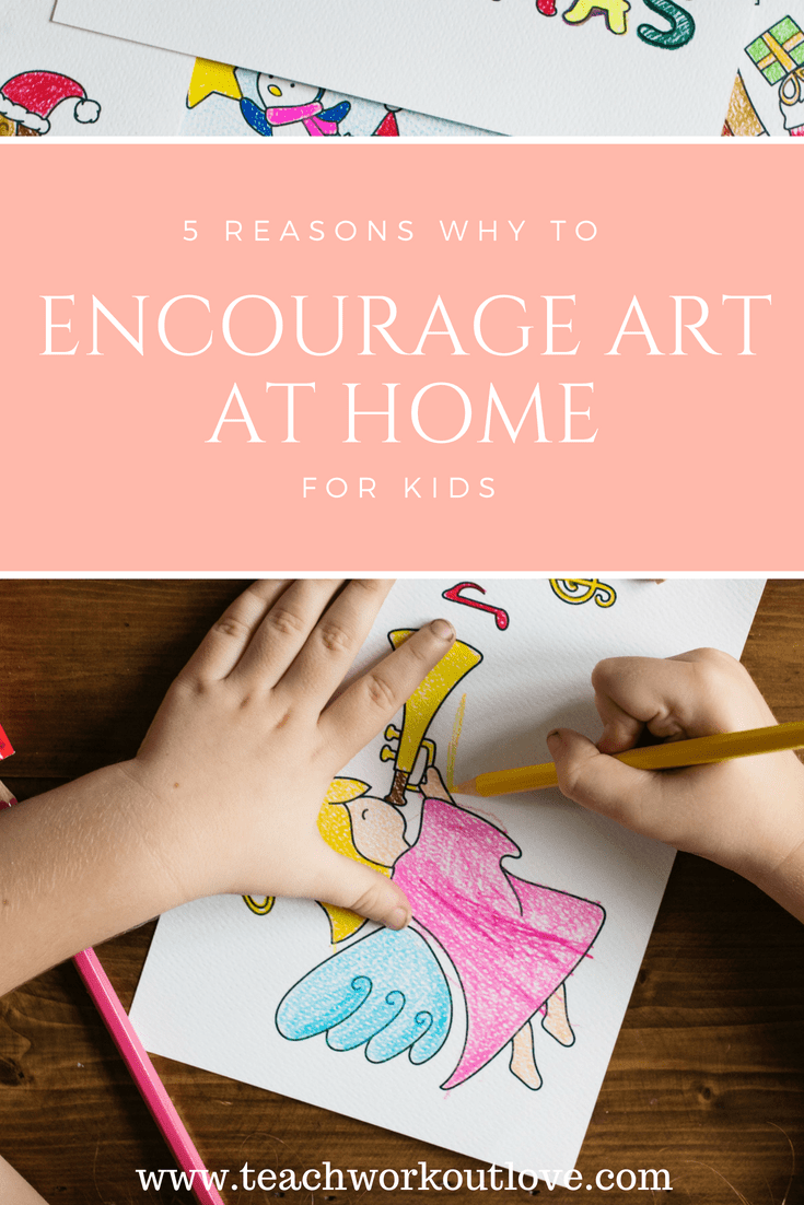 child-being-artistic-at-home
