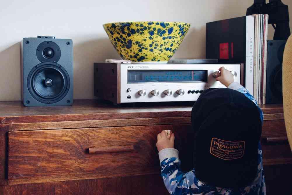 Kid Turning Up Music