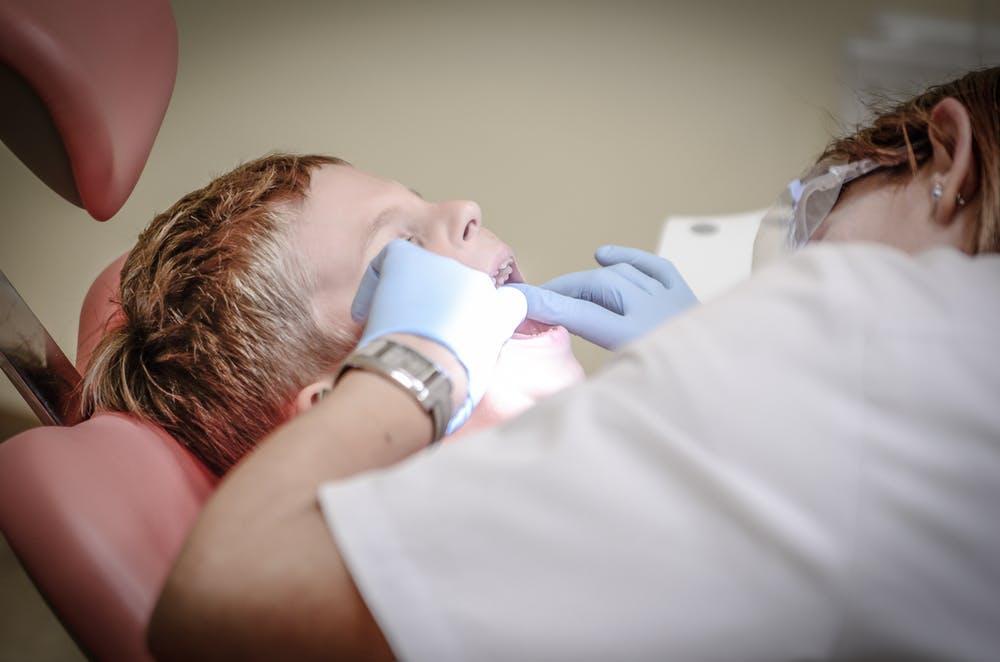 Baby Dentist Visit
