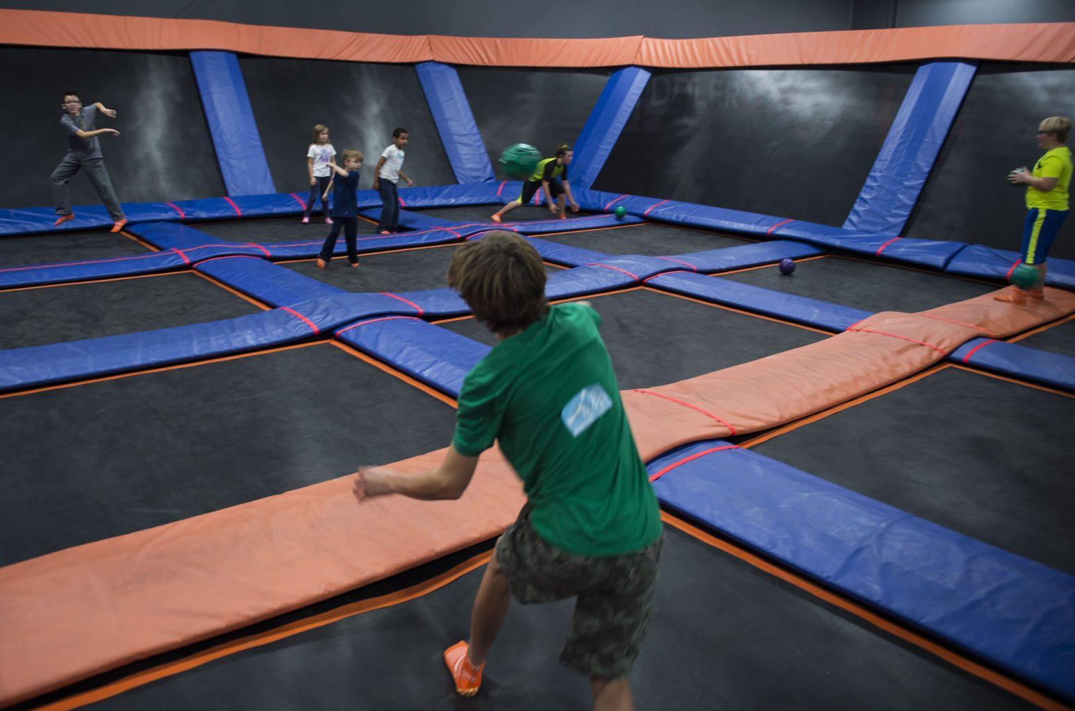 Trampoline Open Jump
