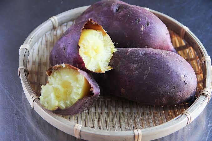 Sweet Potatoes (Yakiimo) japanese foods