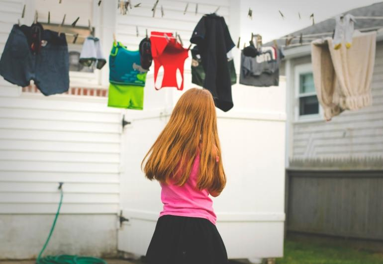 clothes line for laundry