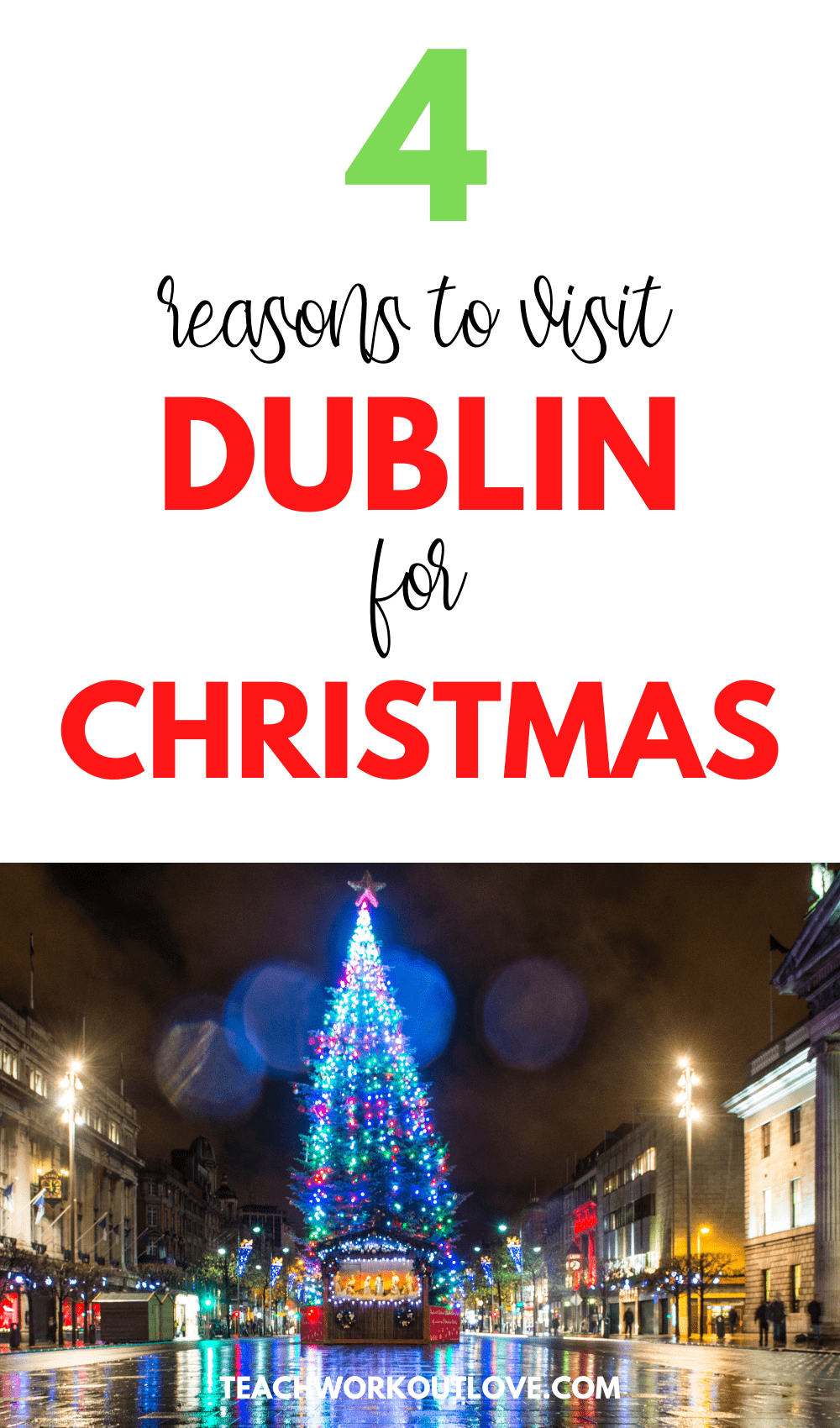 What makes Dublin one of the best of choices when it comes to spending Christmas? Figure it out down below and consider changing your Christmas plans!