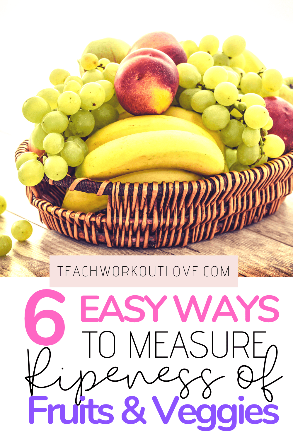Here we have discussed the defining characteristics of ripe fruits that can help you to measure ripeness of fruits and vegetables.