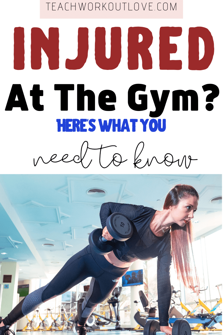 If you've recently had to stop working out because you were injured at the gym, here's what to think about doing next. You could be entitled to something!