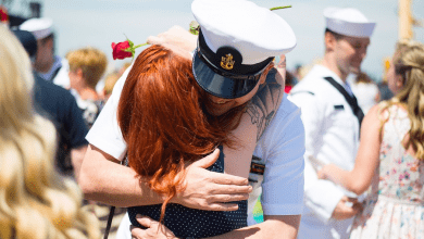 Photo of How To Reconnect to Your Spouse After Deployment