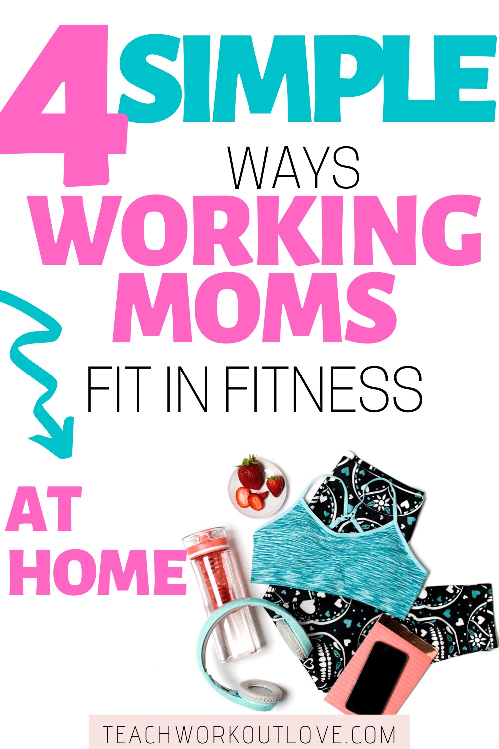 Are you struggling to find time to work out as a working mom? Read on to see how working moms can fit fitness in at home.