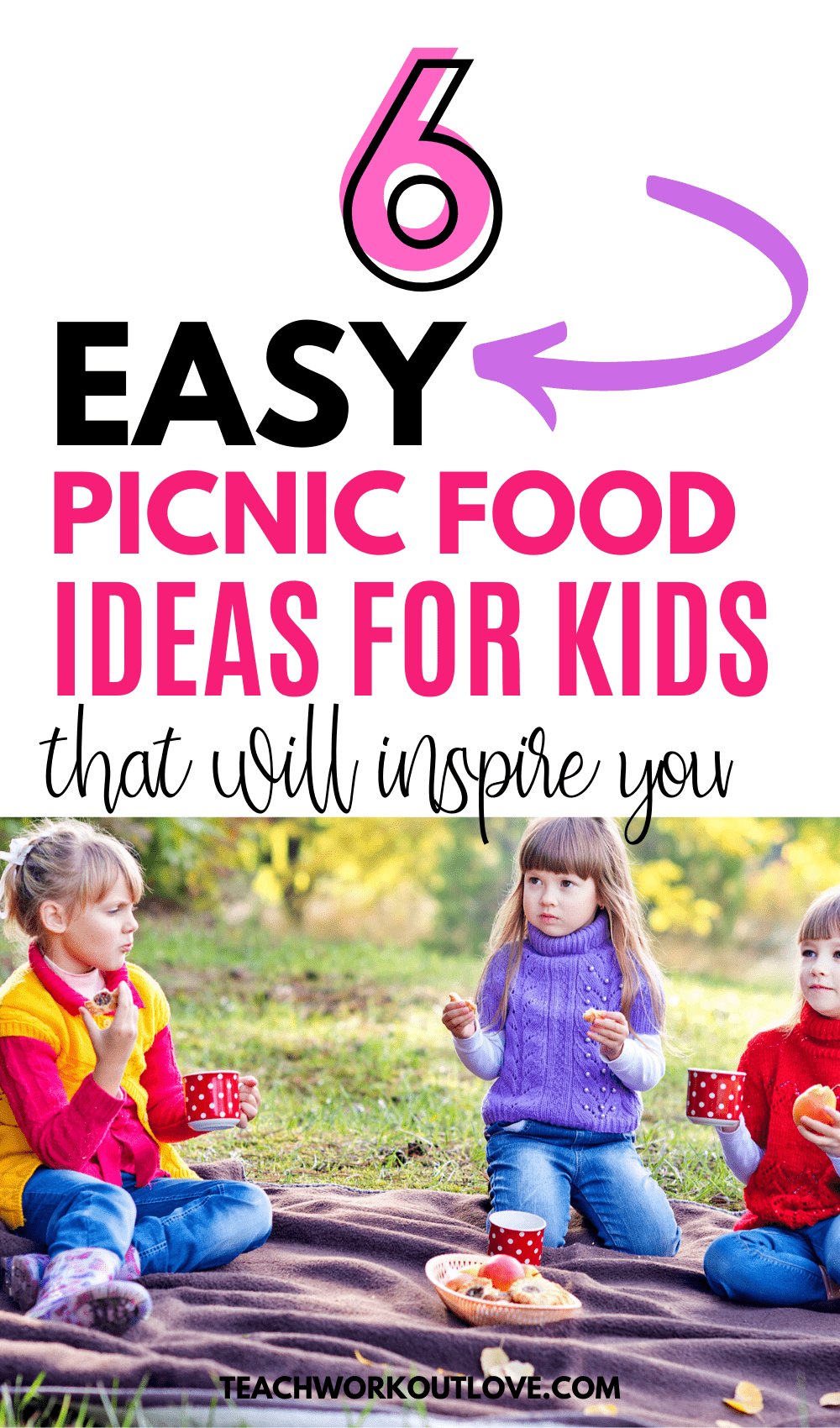 Picnics are meant to be easy, breezy fun, but can be tough sometimes. Check out a few of our favorite picnic food ideas for kids to help you out!
