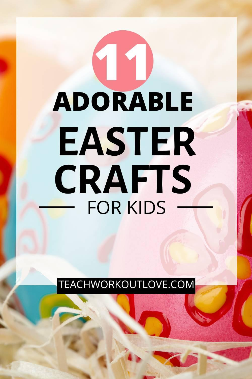 Getting ready for Easter but need some crafts to do with your kids at home? Here are Easter crafts your kids are guaranteed to fall in love with.
