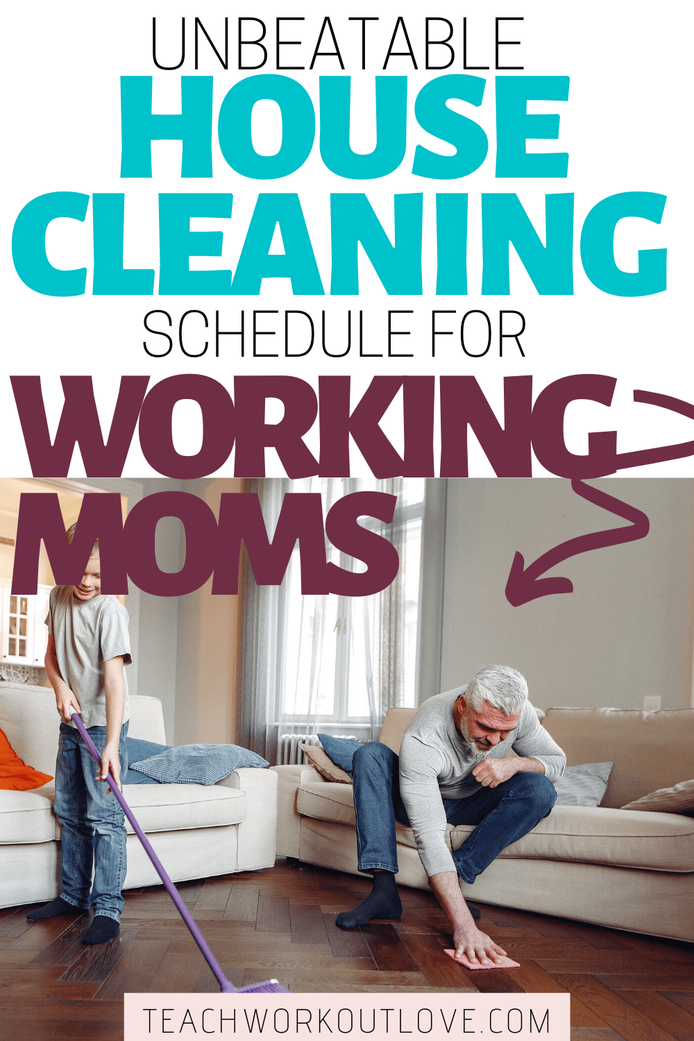 Learn how to keep your house clean with this simple house cleaning schedule. Create a checklist of housekeeping tasks that will work for you.