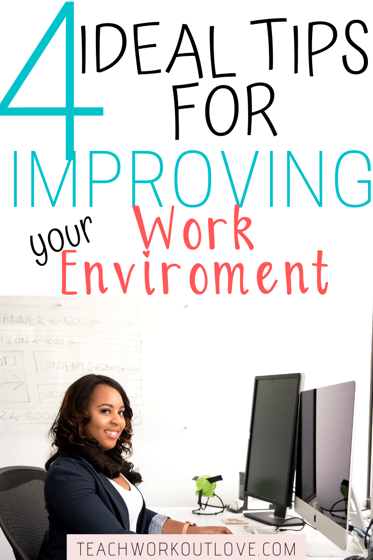 We spend most of our waking time earning a living and in our office.  Here's some quick tips for how to improve your work environment.