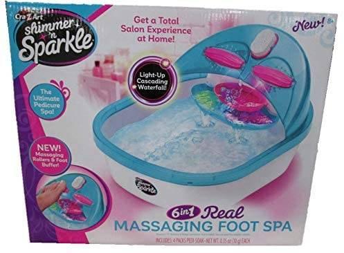 kids spa day foot bath