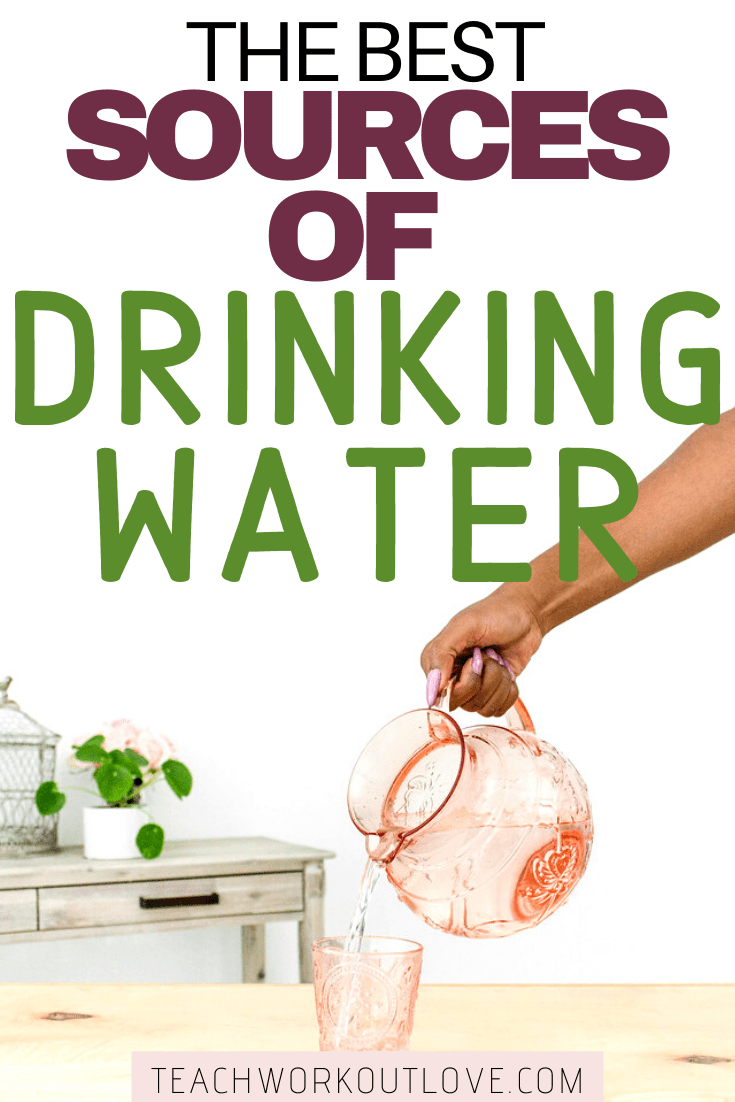 Depending on where you live can depend on how you are drinking water. Read on to find out the best sources of drinking water for you and your family.