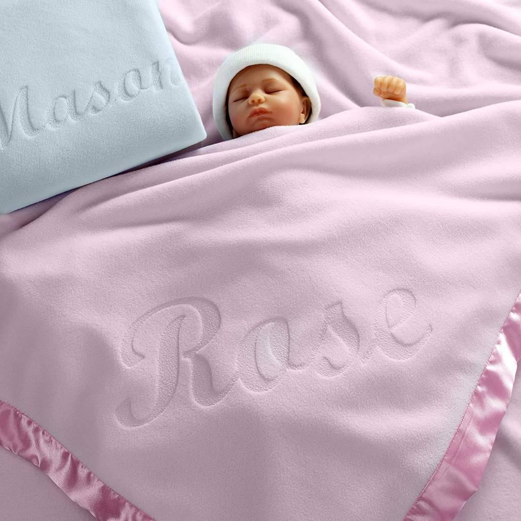baby shower personalized baby blanket