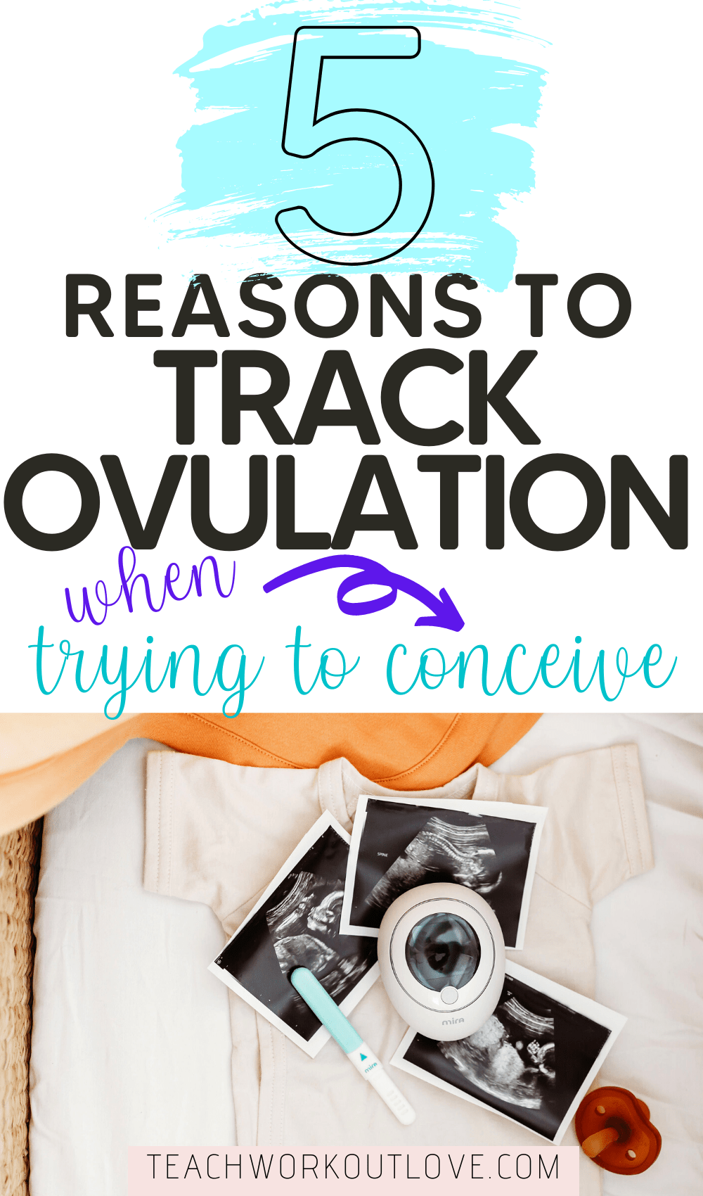 Getting pregnant is different for everyone. In this article we will share with you 5 reasons why you should track your ovulation when trying to conceive.