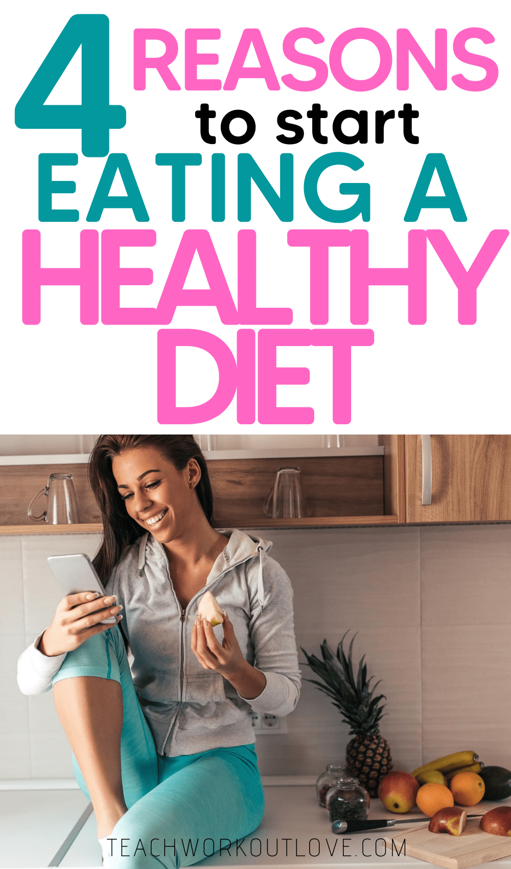 Many of us have a poor diet. Here's some motivational facts on how eating a healthy diet will impact your life for the better.