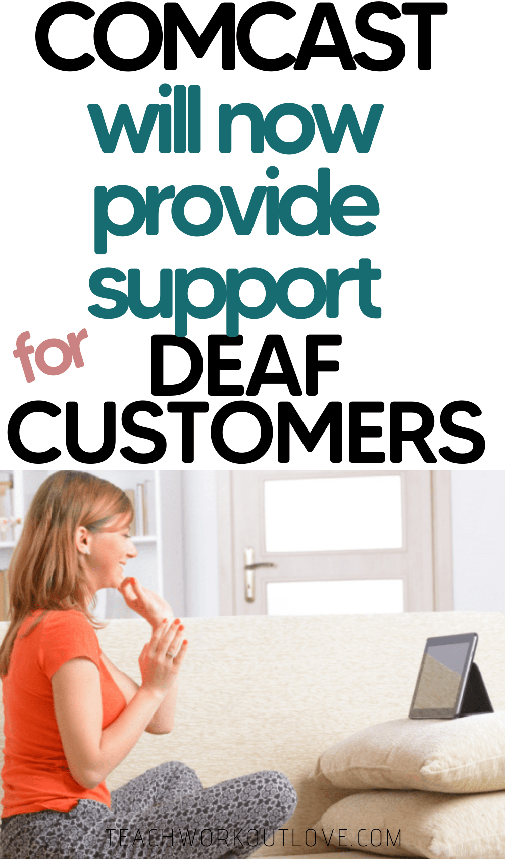 One of Comcast's largest accessibility support centers in the country has a new option to support deaf customers in Liberty Lake, Washington
