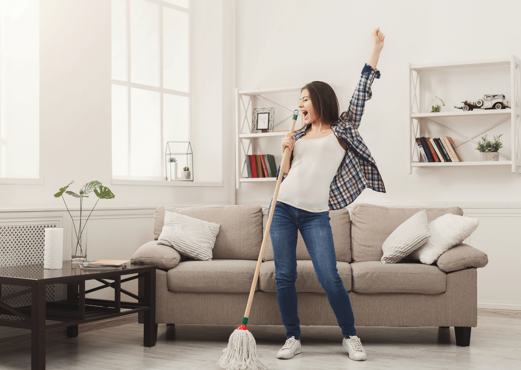 keeping your home clean