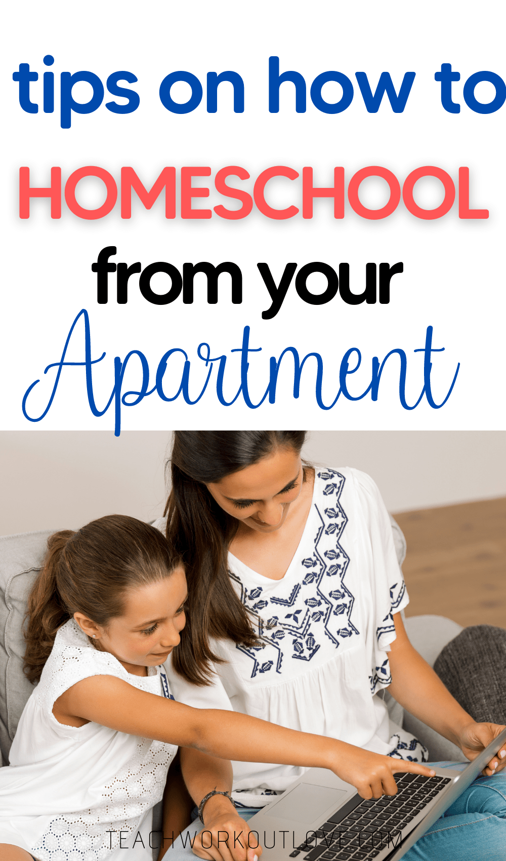 We have compiled a couple of tips and tricks to help maximize your success how to homeschool from your apartment.