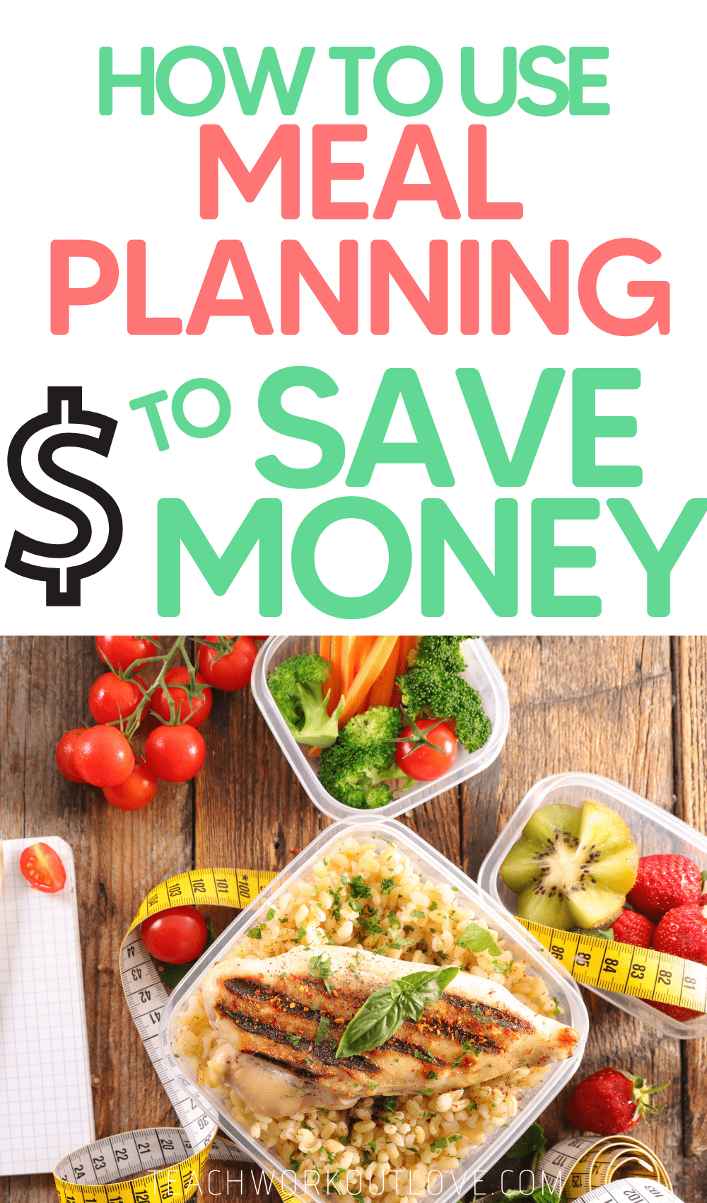 As a busy mom, food preparation & saving money is difficult with kids! Here's how meal prepping can help you save money & time.