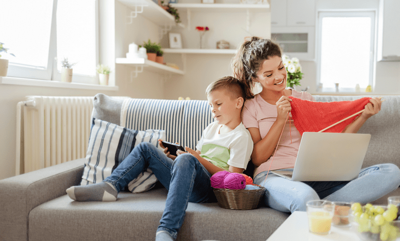 4 Tips For Keeping Kids Entertained At Home On A Budget