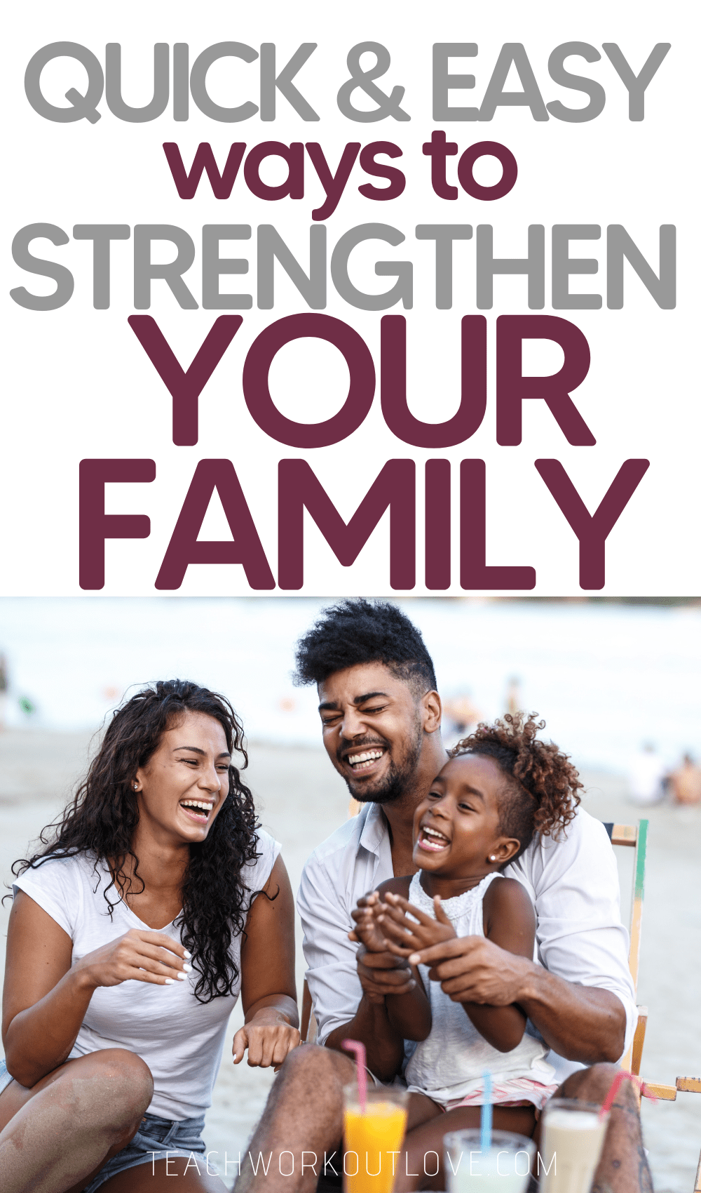 Moms, we work hard to keep our family together and healthy. We have put together some ways to help you strengthen your family even more!