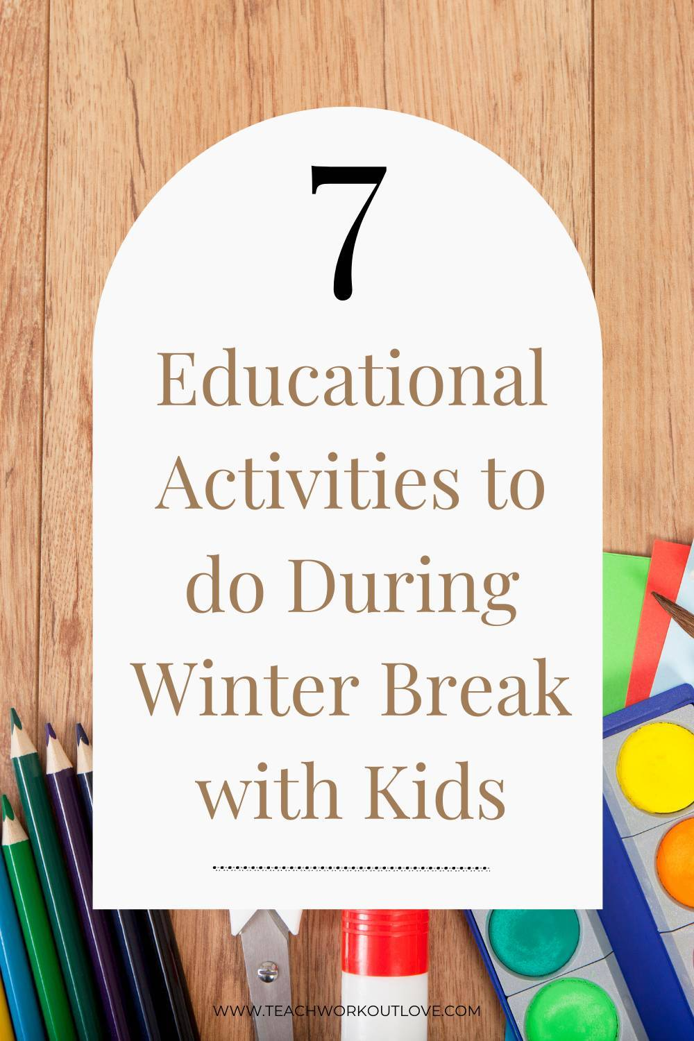 Here are some excellent ideas to keep kids' minds sharp and ready to go back to school after the winter break.