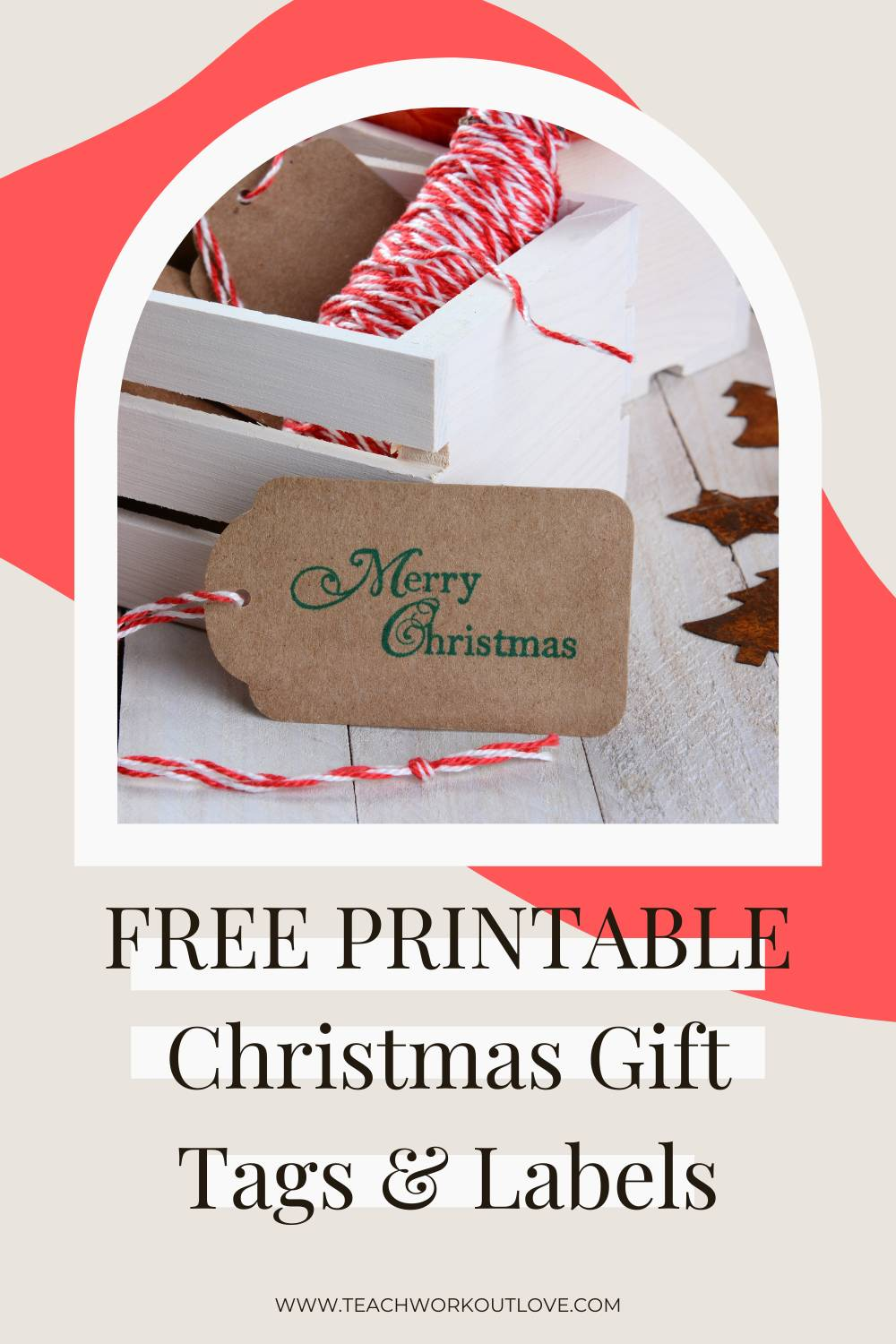 Find out some of the best yet free Christmas gift tags at Teach.Workout.Love! Click to download the free gift tags and print them.