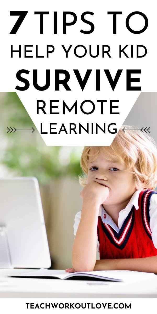 If you are teaching your child at home, you have probably discovered how hard it is to keep your young student focused during remote learning. Here's some tips!