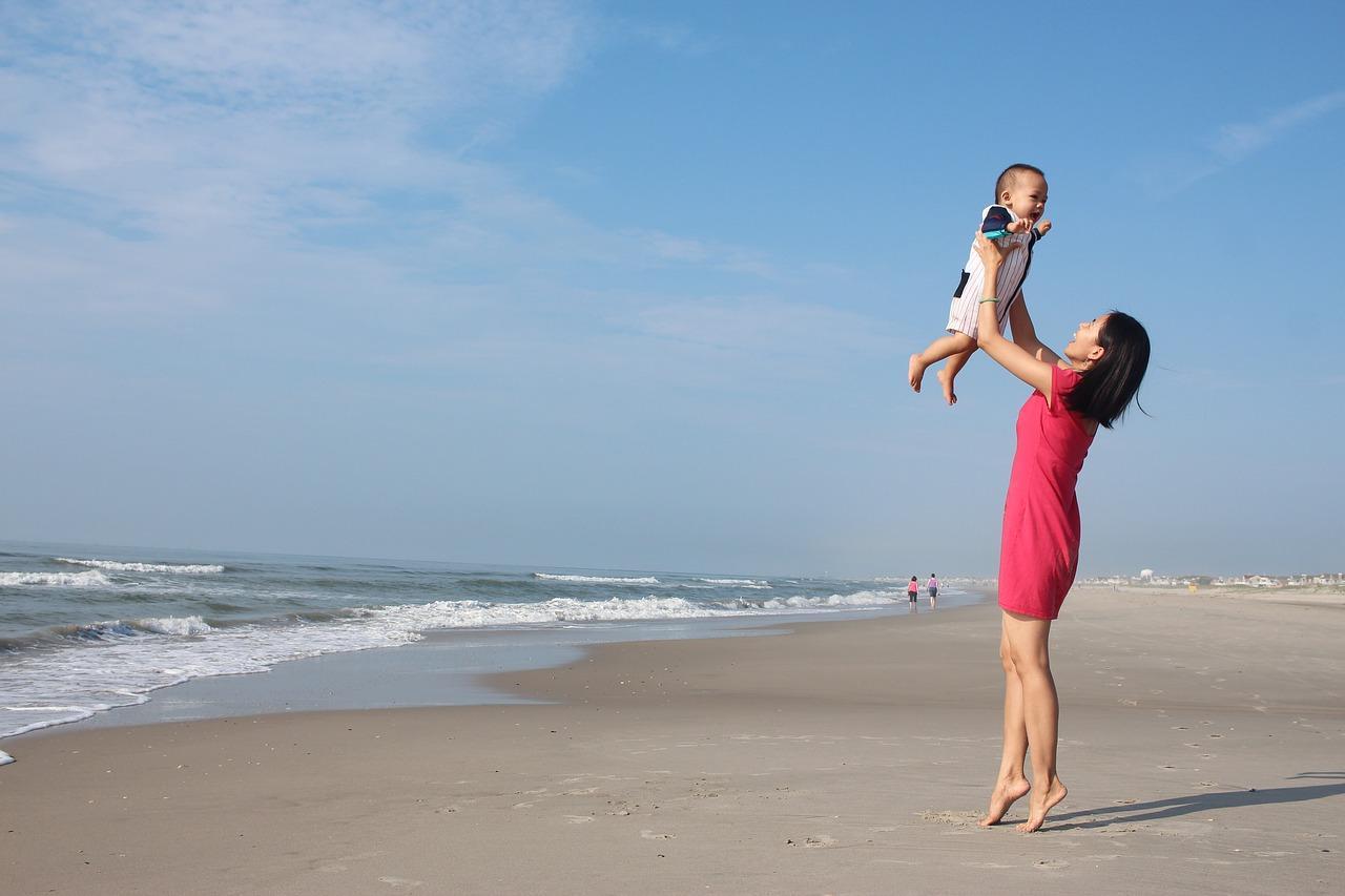 Baby Beach Trip