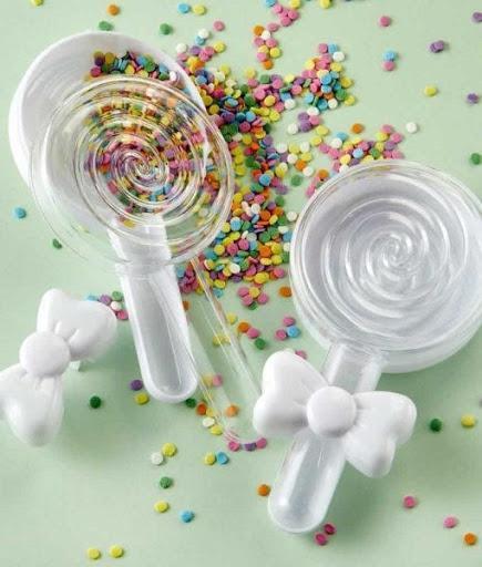 Fillable Lollipop Favor Container