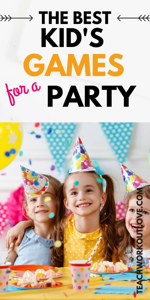 Throwing an amazing children's birthday party? We have the best children's party games for your next party!