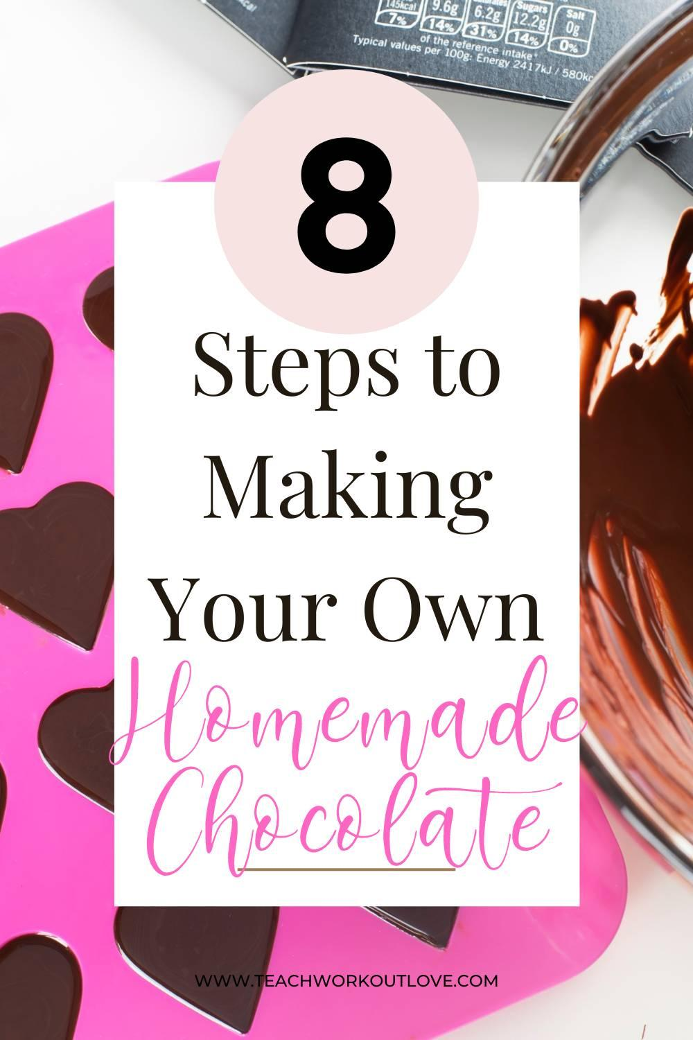 Want to try out a new hobby? Learn how to make homemade chocolate in 8 easy steps. Plus find a chocolate making kit!