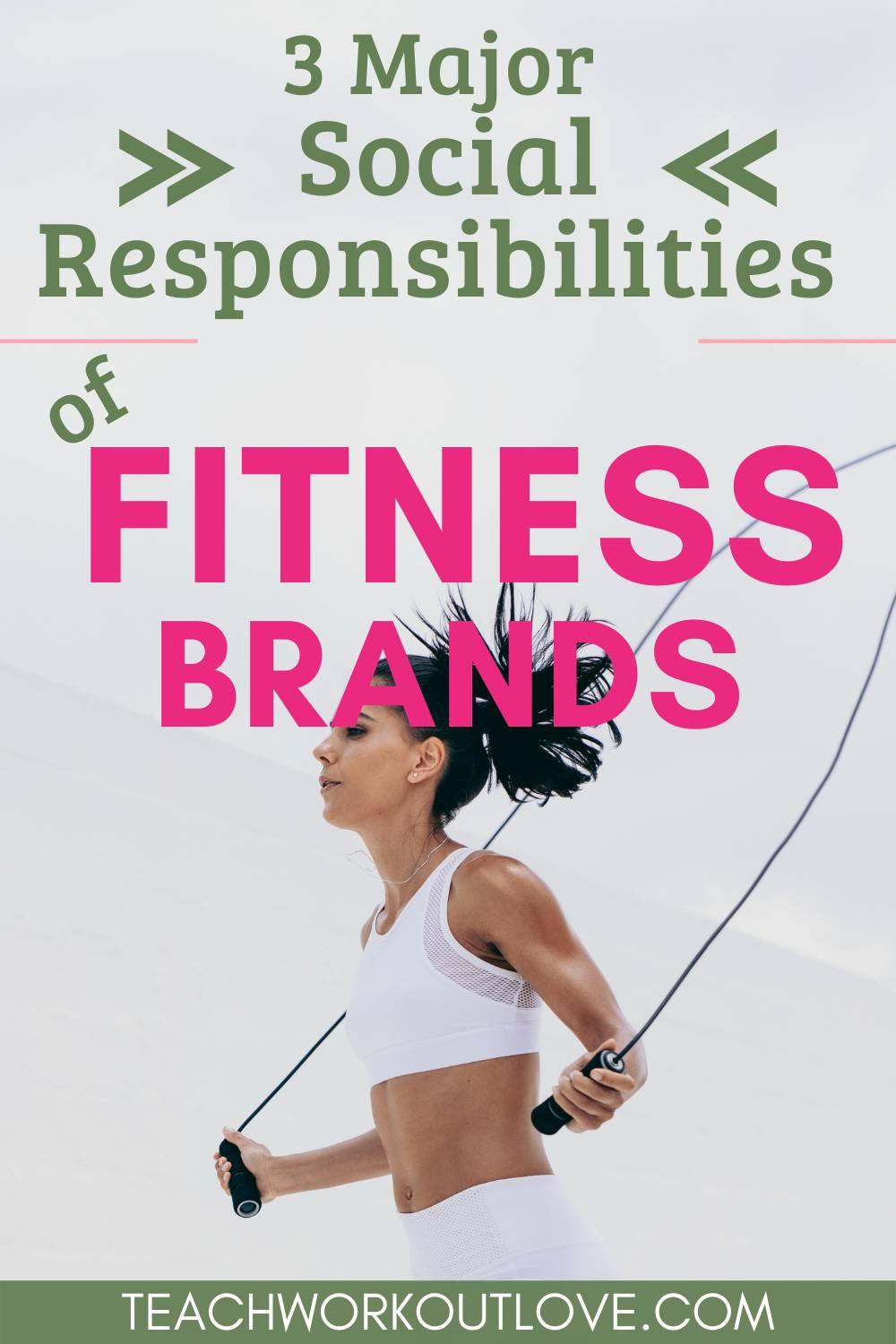 In this post, we have discussed the social responsibilities of fitness brands, and what we as fitness hobbyists would like to see.