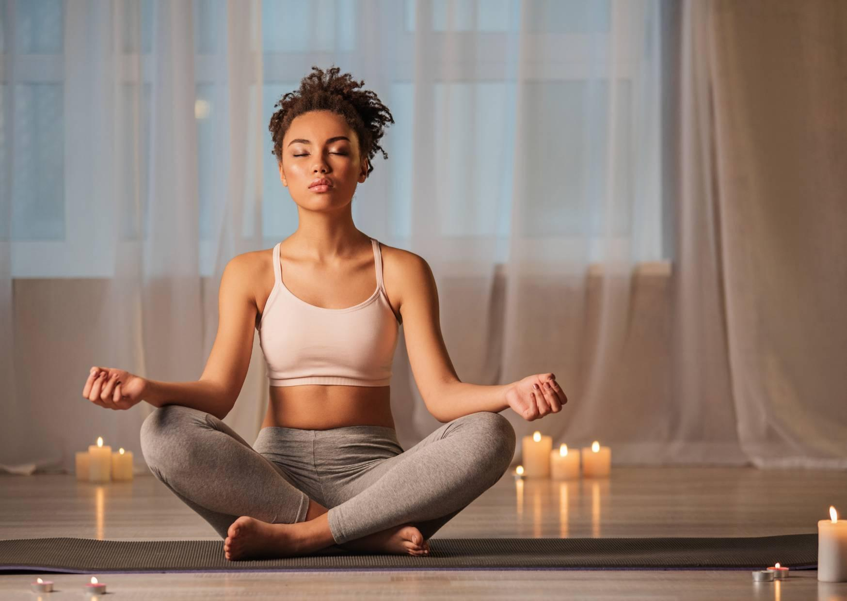 meditation and relaxing