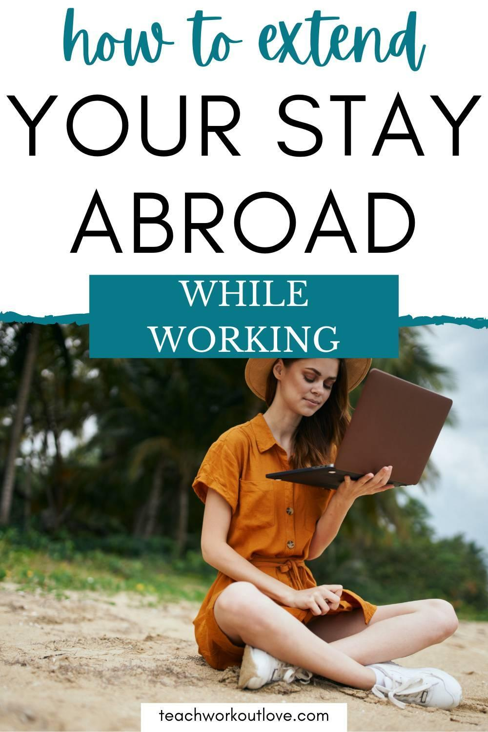 Spending time abroad is a wonderful experience but are not sure what to actually do? learn more about how to spend extended periods abroad.