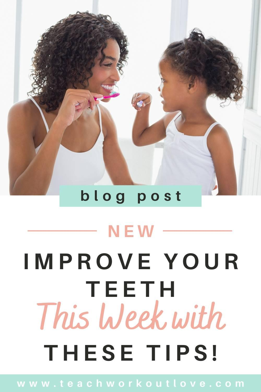A healthy smile can be a great asset & it's because of give best possible care to your teeth. Learn how to Improve Your Teeth This Week With These Tips