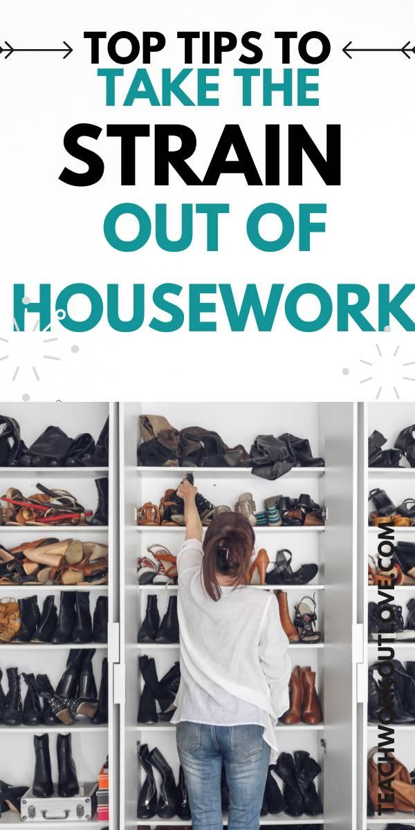 Housework is a task that seems like a lot of work on a daily basis, especially if you are a mom and working. We have some tips to help you!