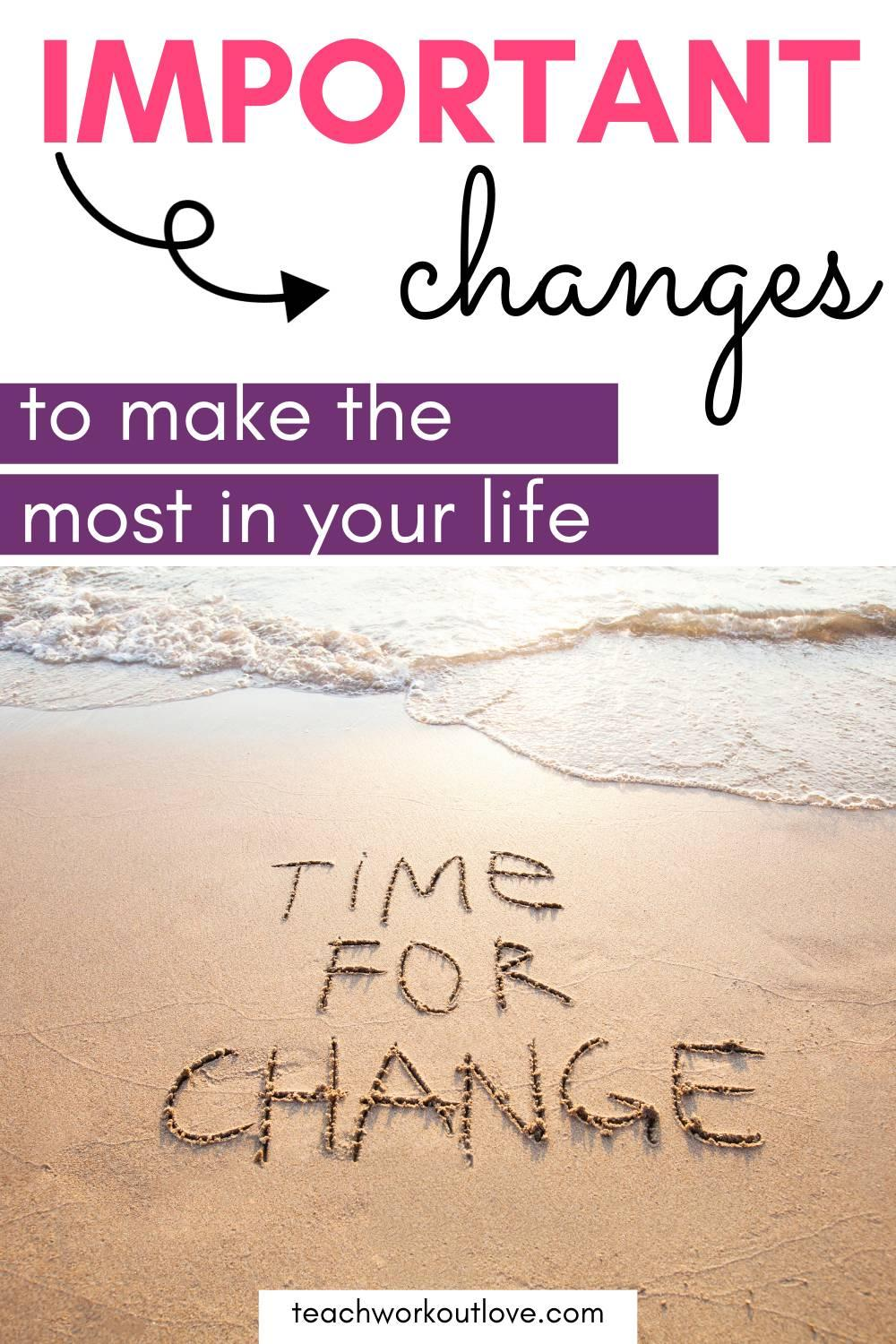 It is important to think about some of the best ways of being able to change your life and take positive steps in the right direction this year.