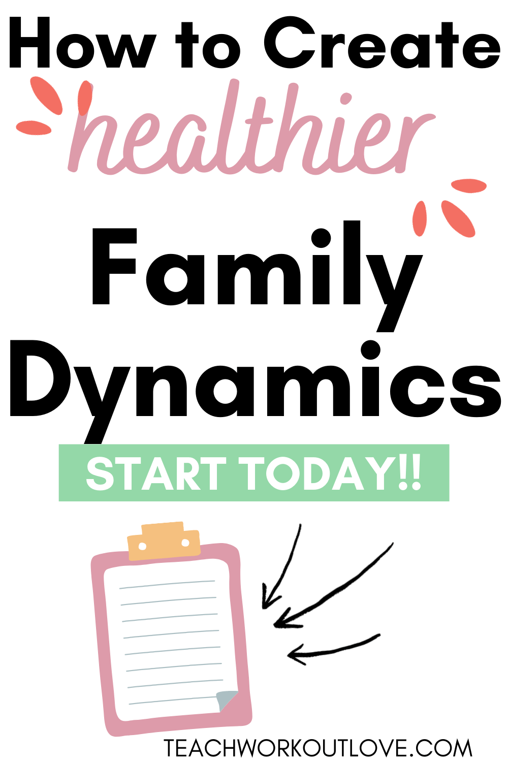 Creating the right family dynamic inside your home is a household should be a top priority for any parent. Here's how to do that!