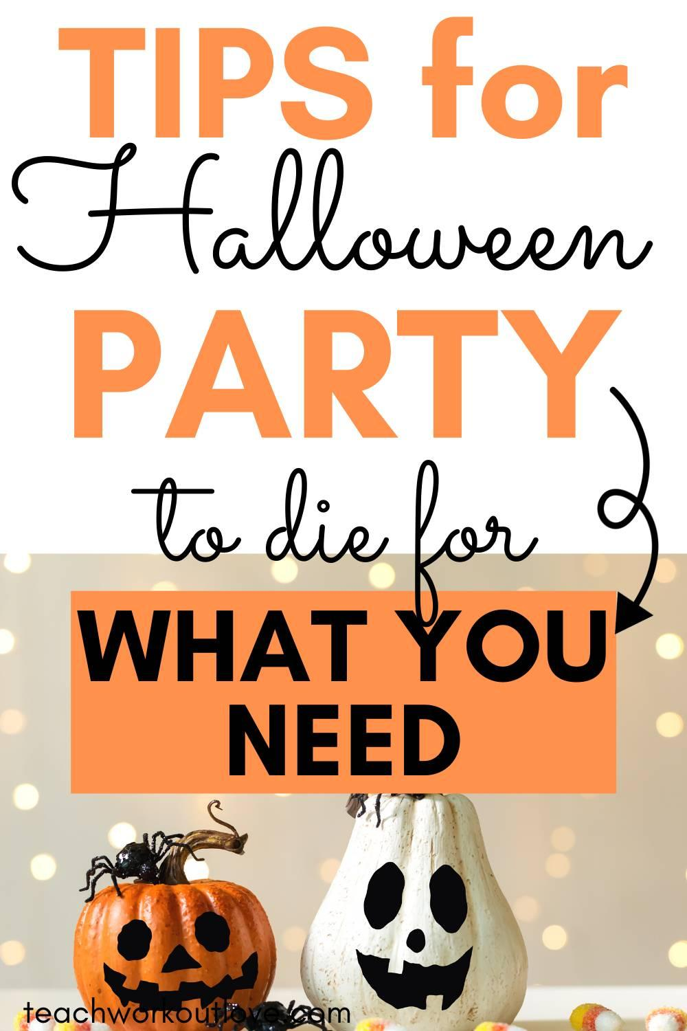 If you're in need of some tips on how to make your Halloween party the ultimate Halloween bash then keep reading!